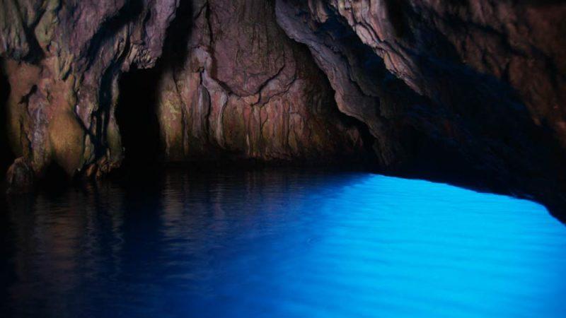 La Grotta Azzurra di Palinuro