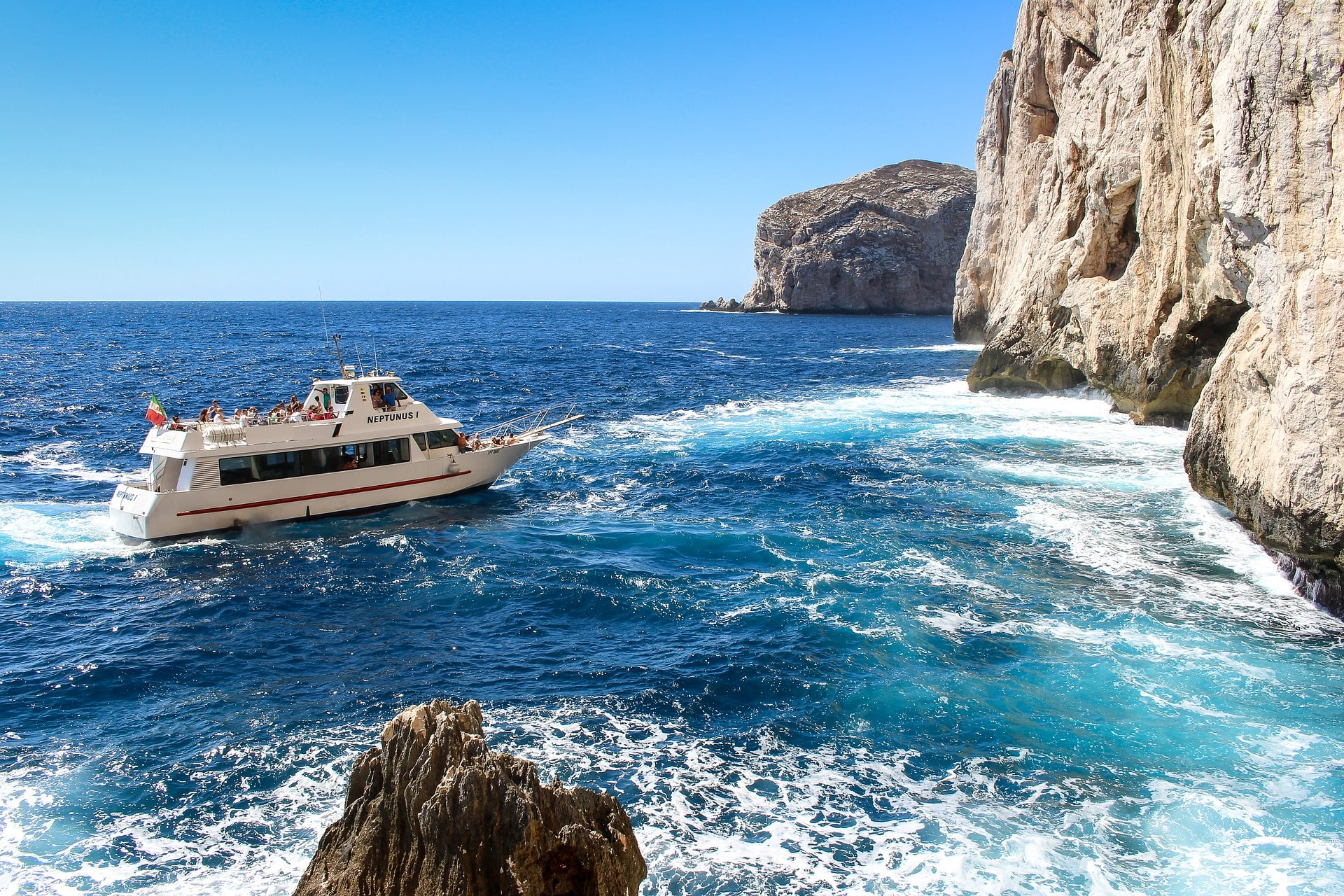 Gita in barca alle grotte di Palinuro