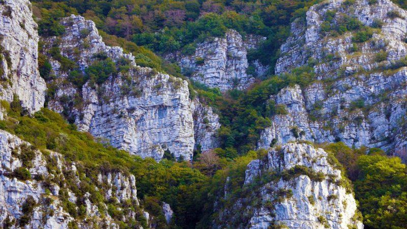 I Monti Alburni e la Valle del Calore