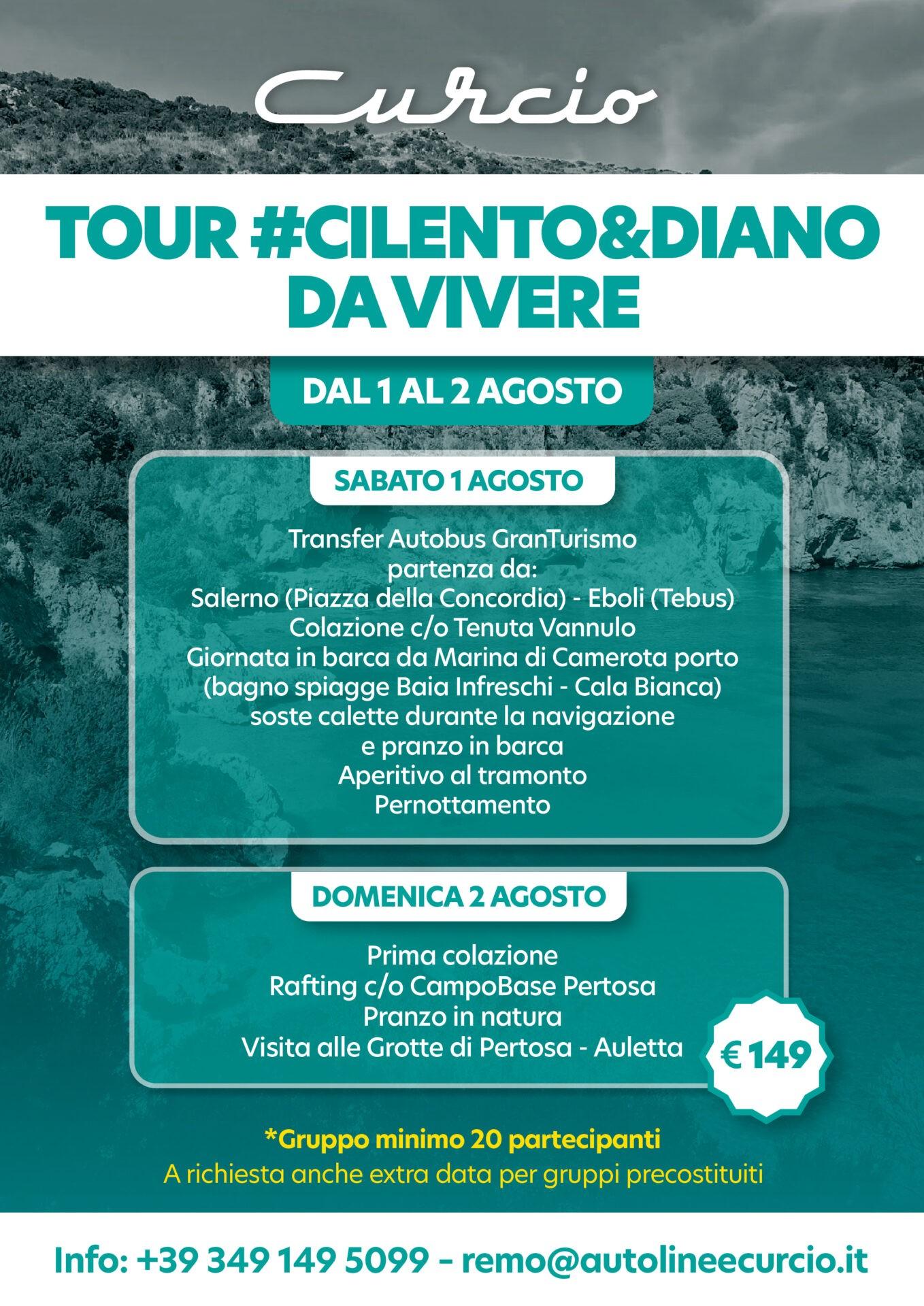 Tour Cilento & Diano da Vivere